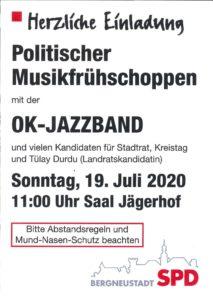 Politischer Musikfrühschoppen – Herzliche Einladung
