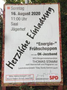 """SPD lädt ein zum """"Energiefrühschoppen"""" in den Jägerhof"""