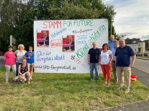 Plakataktion der SPD: Zukunft gestalten mit Thomas Stamm