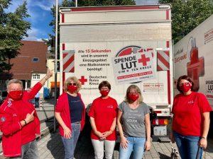 SPD bei der Blutspende